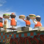 "Burgers served on the roof. Never understood the ""espresso"" or ""coffee shop"" thing."