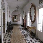 Charming old corridor.