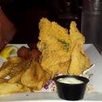 Fried Catfish and Potatoes New Orleans Hamburger and Seafood