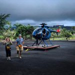 First helicopter ride for the in-laws!