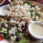 Lump crabmeat salad