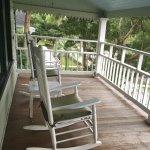 Tin Roof Cottage Porch view