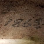 Graffiti from the late 1800s.
