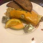 Surf & turf omelet