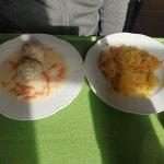 Meatballs and sauerkraut