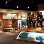 Museum Exhibit - Confederate Army Memorabilia