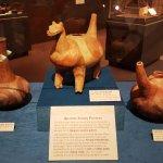Museum Exhibit - Quapaw Indian Pottery