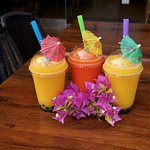 Tropical Smoothies with Tapioca