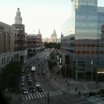 downtown providence ri, ri state capital in distance, from room