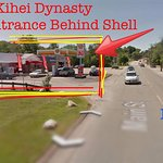 We are a bit hard to find with a side entrance- Look for Shell Gas Station.