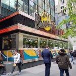 Brooklyn Diner in upper Manhattan - near Central Park