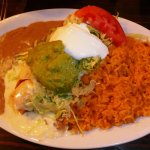 Lunch Special #7: Chimichanga