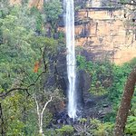 view of fitzroy falls whilst walking west rim track
