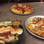 Cobb Salad and Pizza