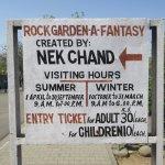Rock Garden Info