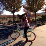 Michael Mondovi winery, a short bike or walk away.