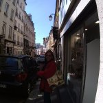 Shops near the RER train, 700 meters from hotel