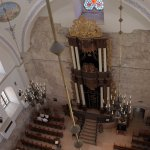 Hurva Synagogue - view from rooftop indoor walking area