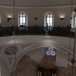 Hurva Synagogue - indoor walking area near dome