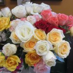 Roses for each mom on Mother's Day