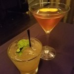 Tao of Bourbon (left) and Dragon Manhattan
