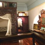 A typical historical bedroom