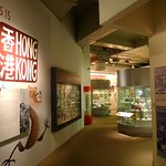 The exhibition of the more recent history of Hong Kong