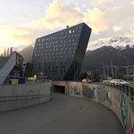 The distinctively shaped Ramada Innsbruck