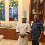 With Dixit Wankhede, Executive Sous Chef