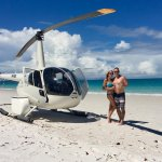 Private Helicopter tour to Whitehaven Beach