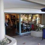 Street entrance to Sidando Cafe