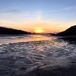 Sunset Porth Beach