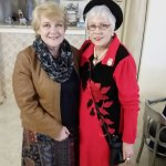 Mrs Rosemarie van Staden (owner) and Dr Barbara Louw (speaker)