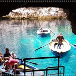 Underwater lake at Melissani