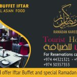 This Ramadan experience our extraordinary Iftar Buffet at Tourist Restaurant for only Qr.55!