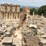 The library at Ephesus May 2017