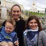 in Peterhof park
