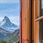 Matterhornblick vom Zimmer aus