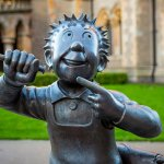 Oor Wullie Statues as part of the bucket trail