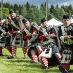 A Tug o'War at Blair Atholl Highland Games