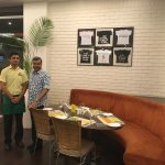 With Pradeep (F&B Service)
