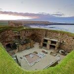 The neolithic village of Skara Brae