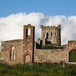 Brough lodge and tower, Island of Fetlar, Shetland