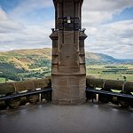 View from the top of the National Wallace Monument