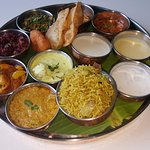 The holistic thali for the day