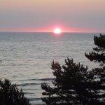 Morgens bei Sonnenaufgang
