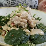 Poached Chicken Couscous salad
