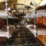 Inside the U-505 bunk area