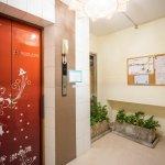 Elevators & information board