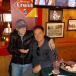 you never know WHO you'll meet @ Famous Dave's!